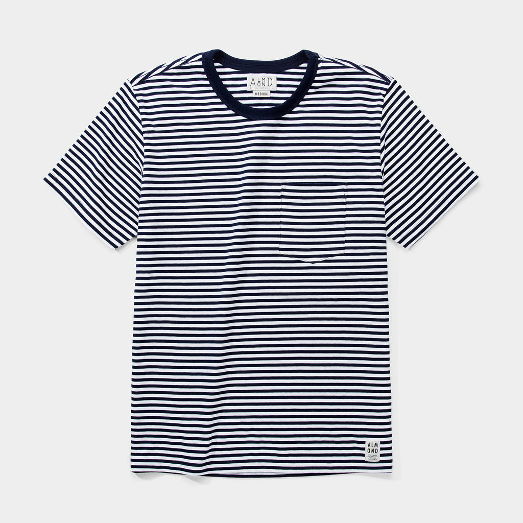 Douglas Stripe T-shirt | Navy