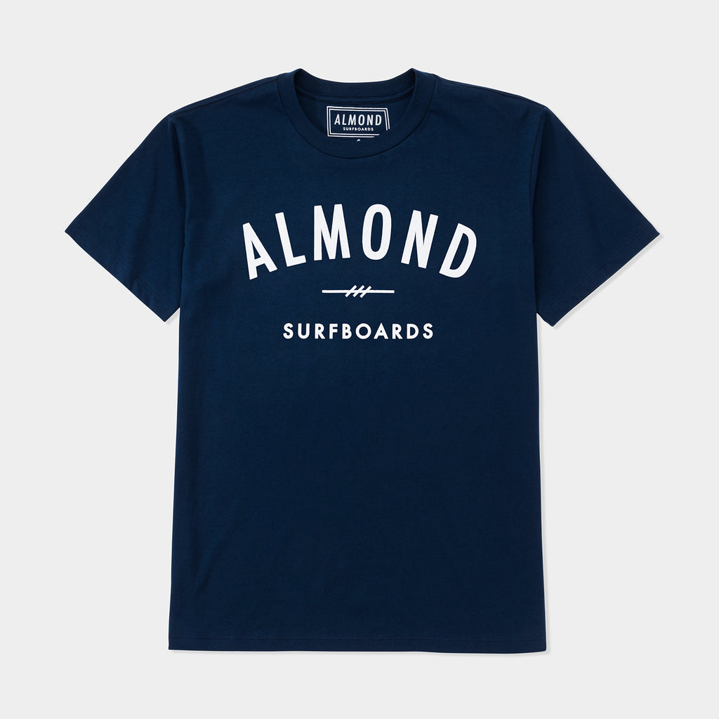 Fine Surfing Boards Tee | Navy