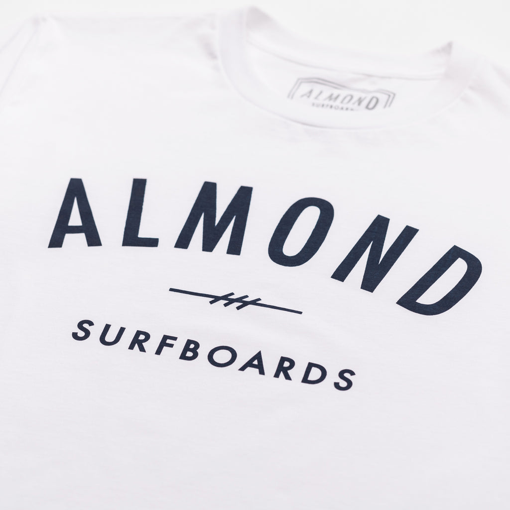 Fine Surfing Boards Tee | White