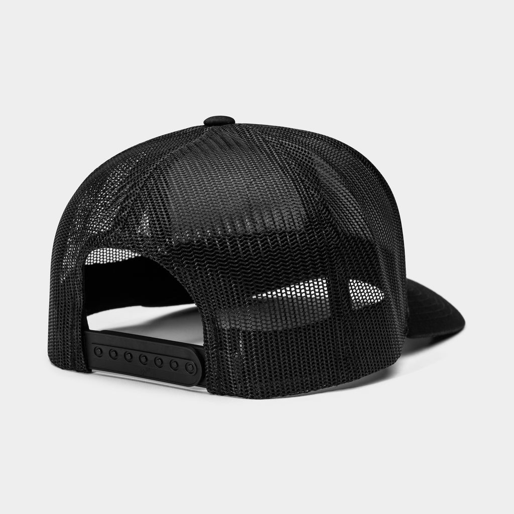 Gravel Trucker Hat | Black
