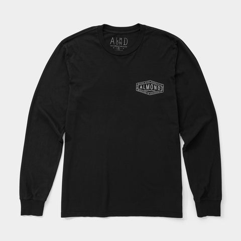 Hex Badge Long Sleeve | Charcoal