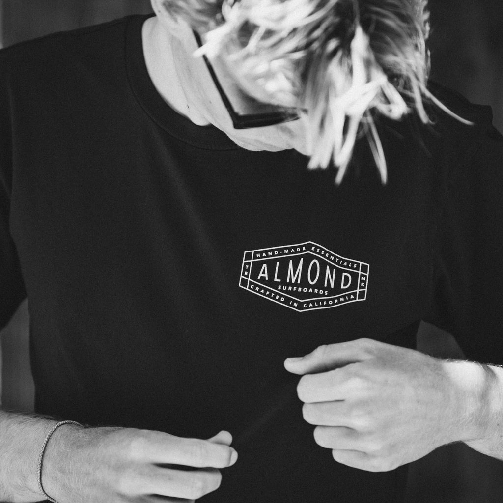 Hex Badge Tee | Charcoal