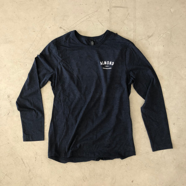 Tradewinds Tee LS | Heather Navy
