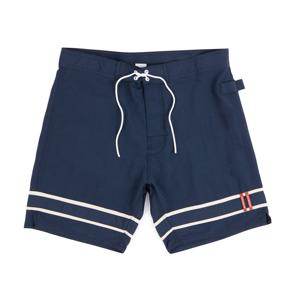 Almond x Seager Stringer Trunks | Navy