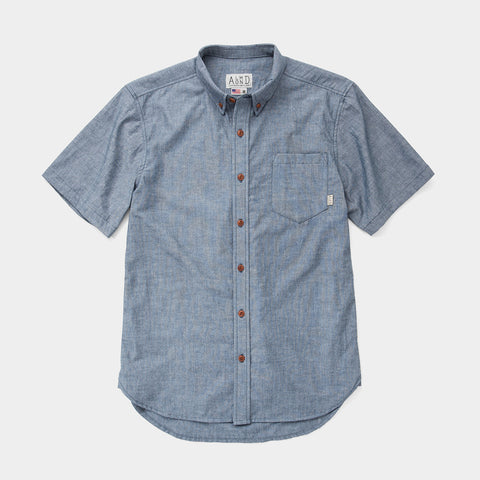 Low Tide SS Woven // Chambray