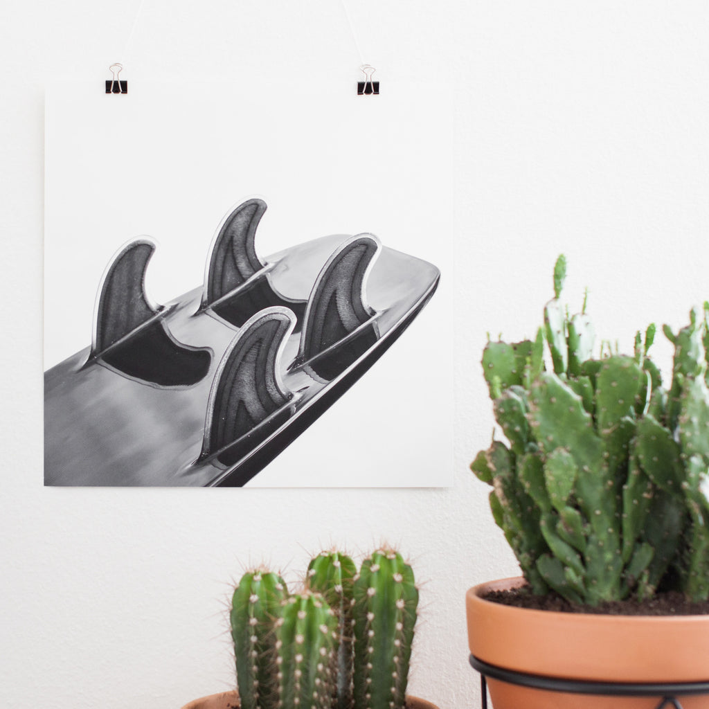 Hand-Foiled | Poster Print
