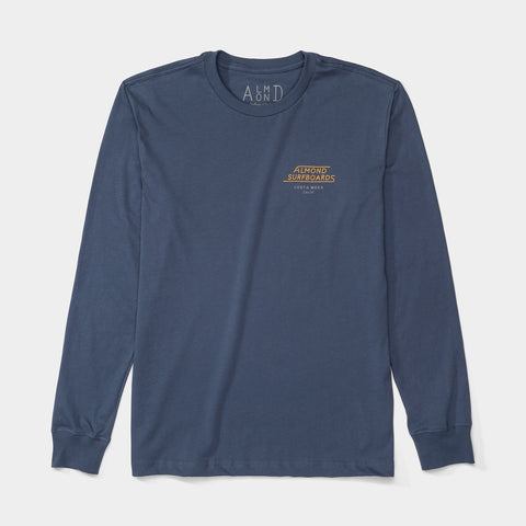 Mesa Tee LS | Washed Navy