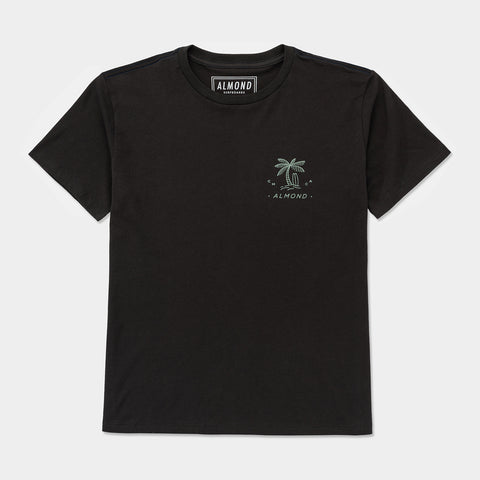 Paradise Tee | Charcoal