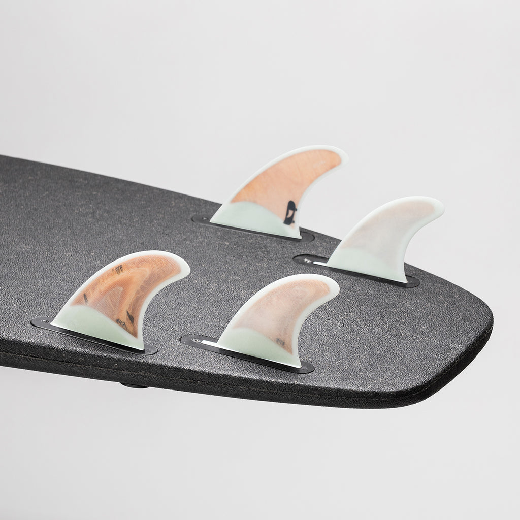 Recycled Plywood Quad Fins