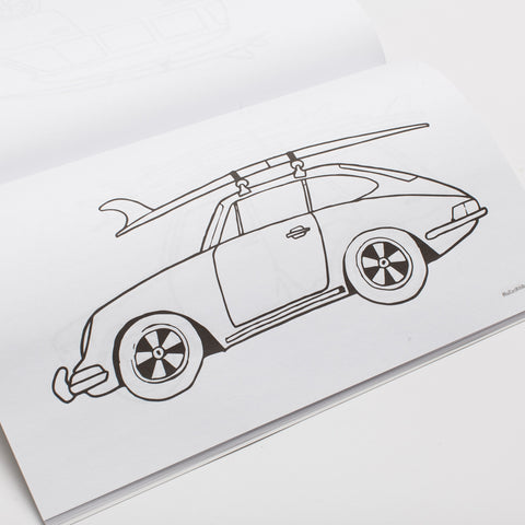 Rad Cars Coloring Book
