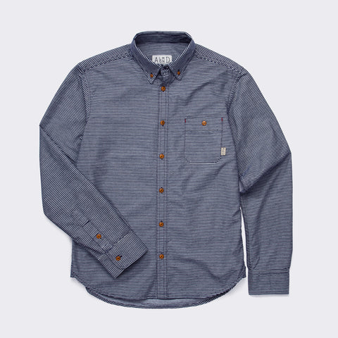 Railroad Stripe Work Shirt