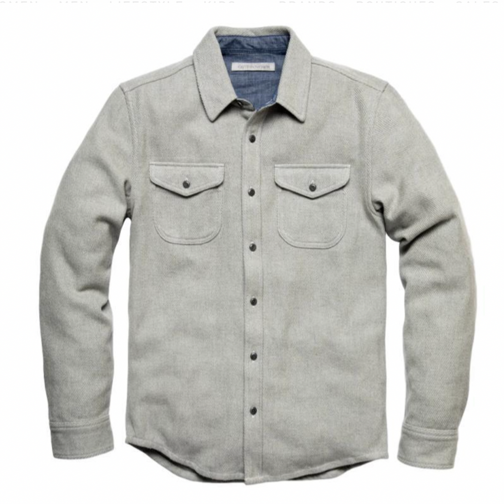 Blanket Shirt | Heather Grey