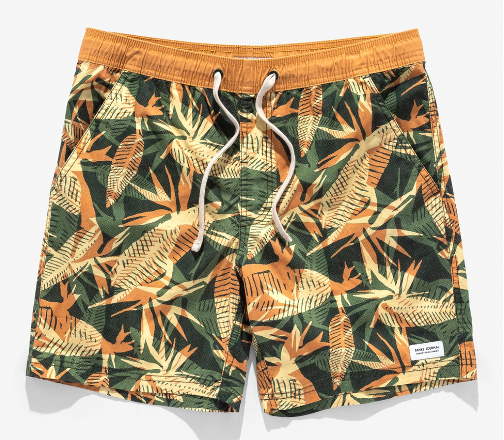 VOID ELASTIC BOARDSHORT | DEEP FOREST