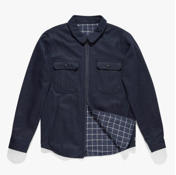 Reversible Lumber Jacket | Dirty Denim