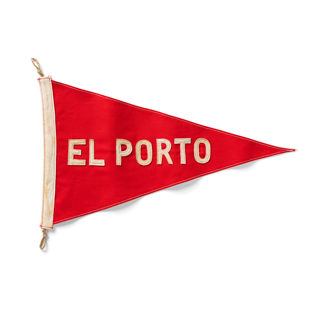 Slightly Choppy <br> El Porto Flag