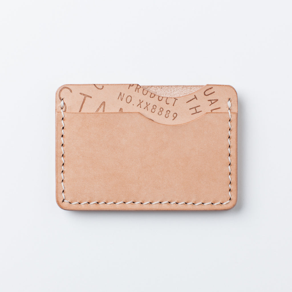 Standard Leather Slim Wallet