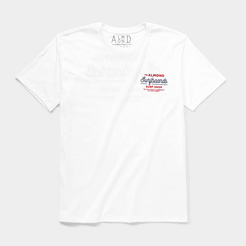 Surf Shop Tee | White