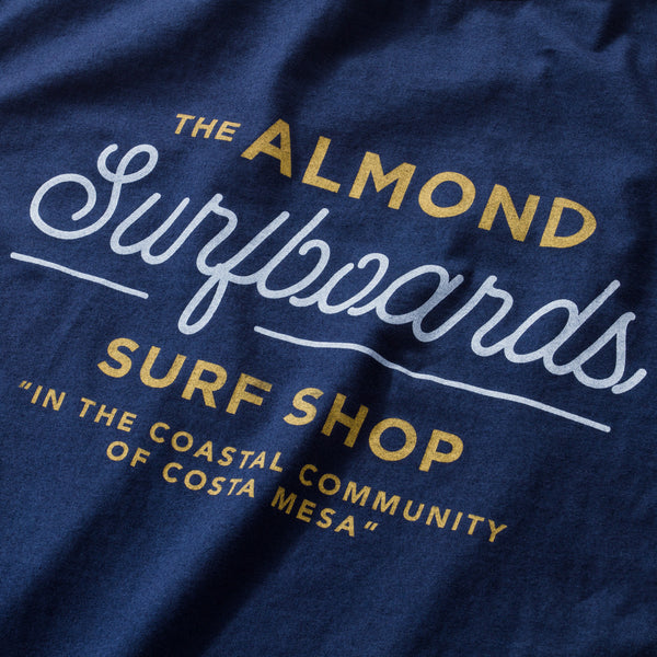 Surf Shop Tee | Navy