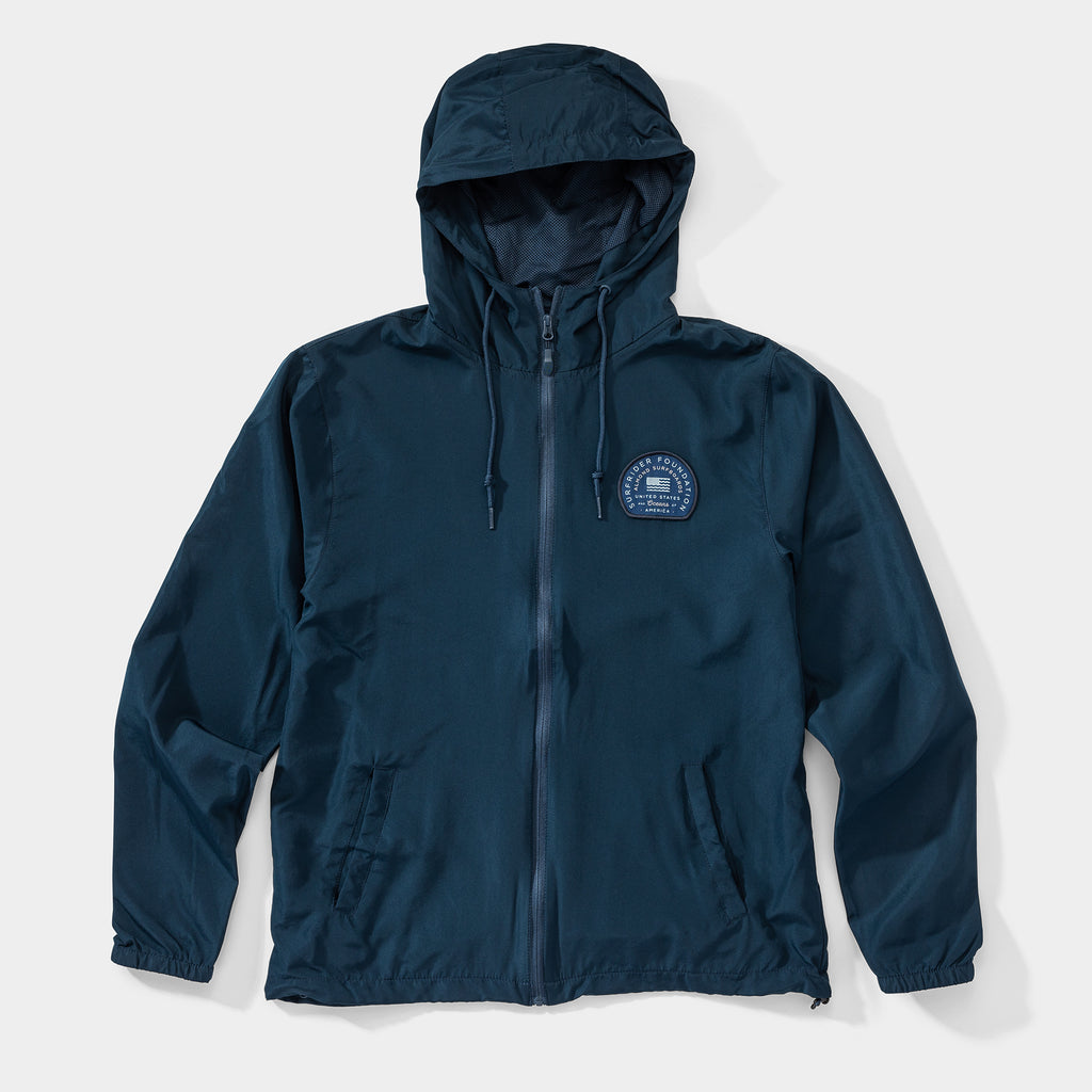 USOA Windbreaker | Navy