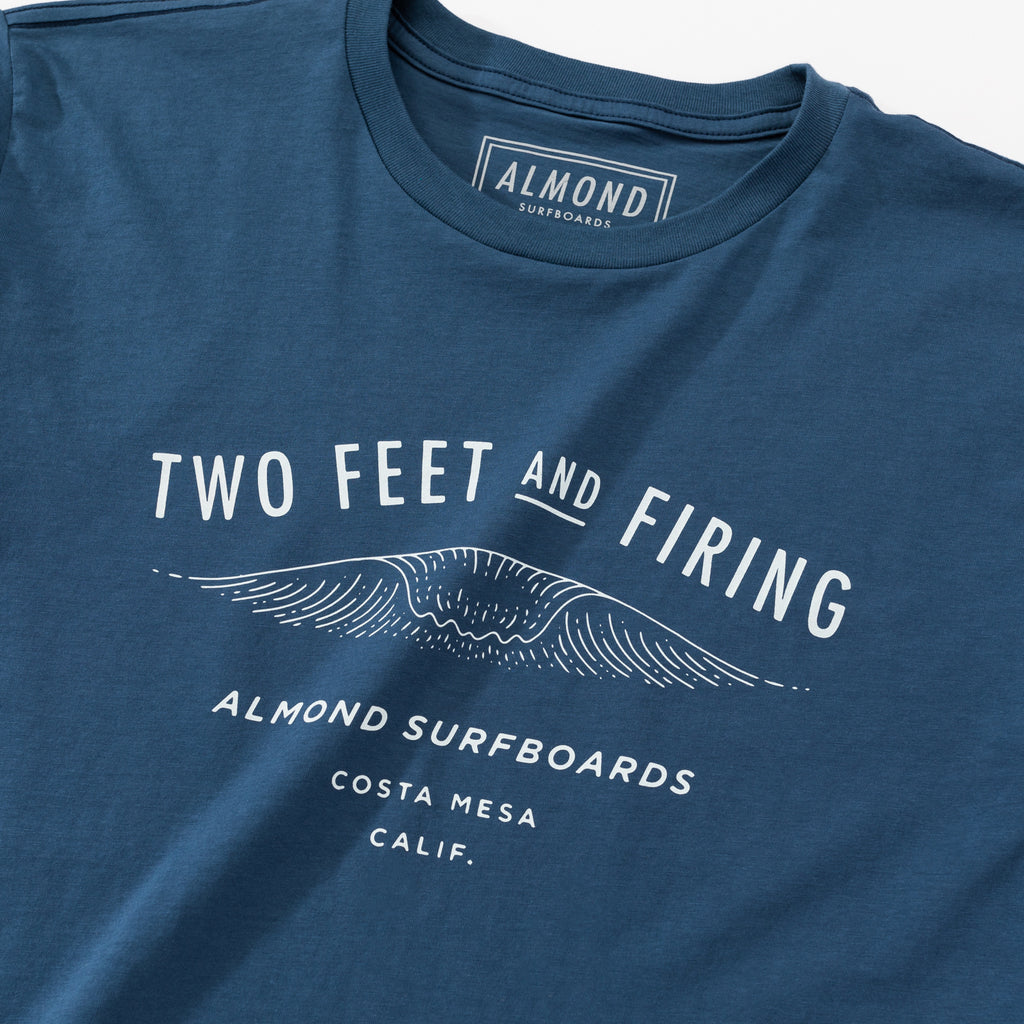 Two Feet Tee | Navy