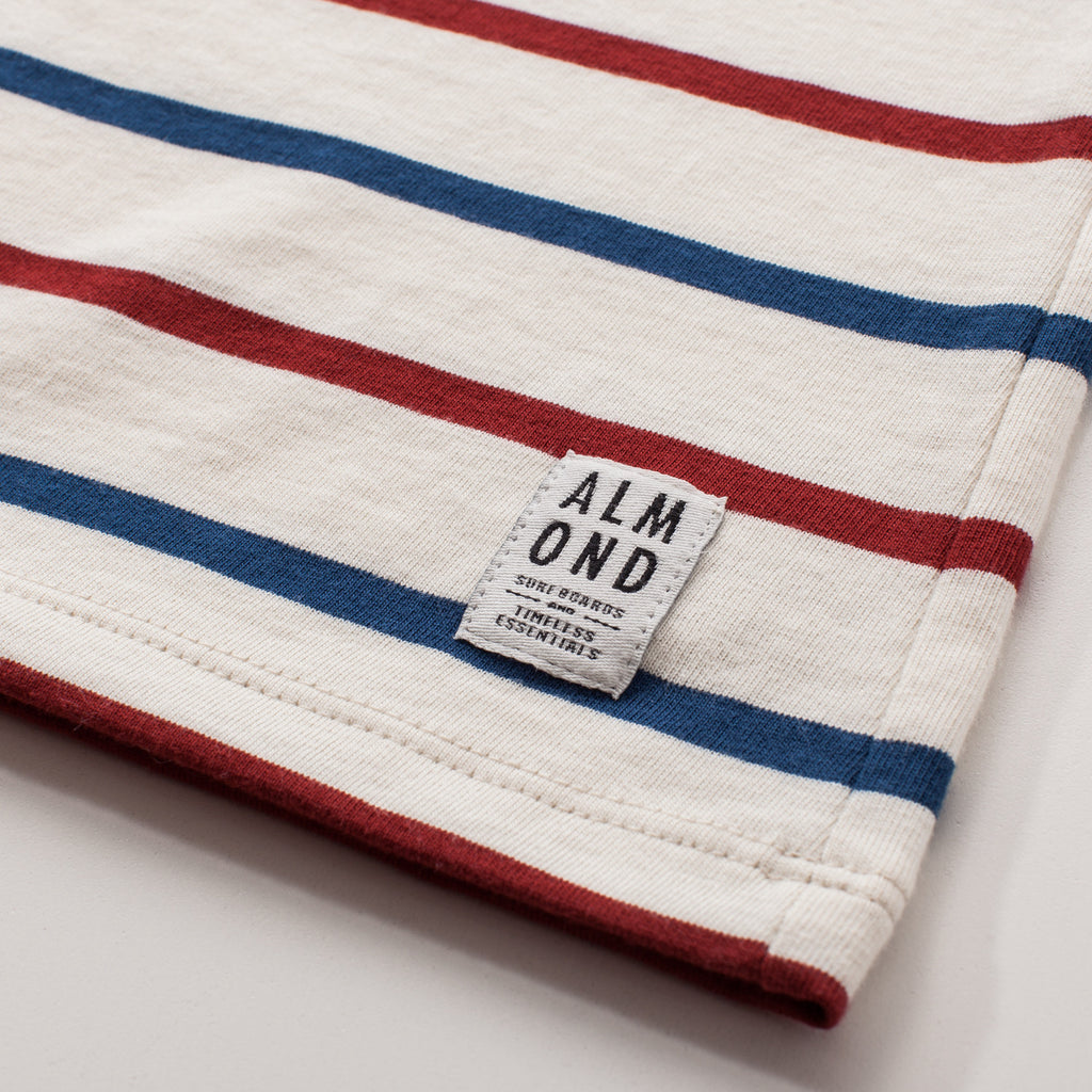 Westport Stripe T-shirt | Natural