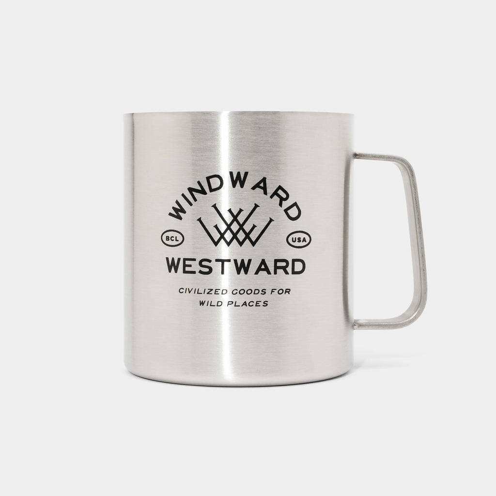Windward Steel Camp Mug
