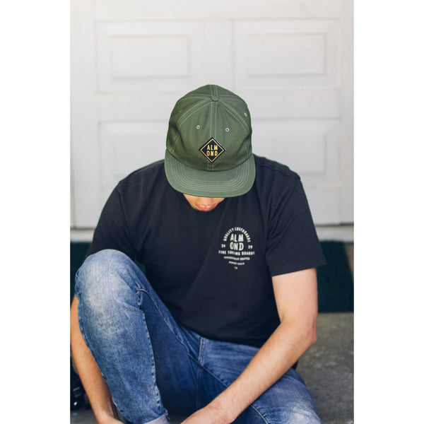 Diamond Patch Hat | Army