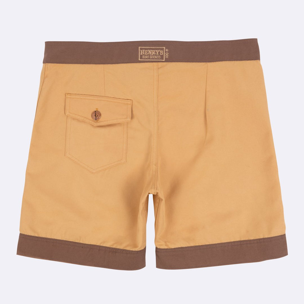 Henry's Surf Trunks | Marigold