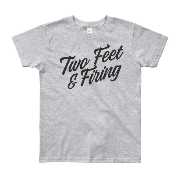 Kids' Two Feet + Firing Script Tee