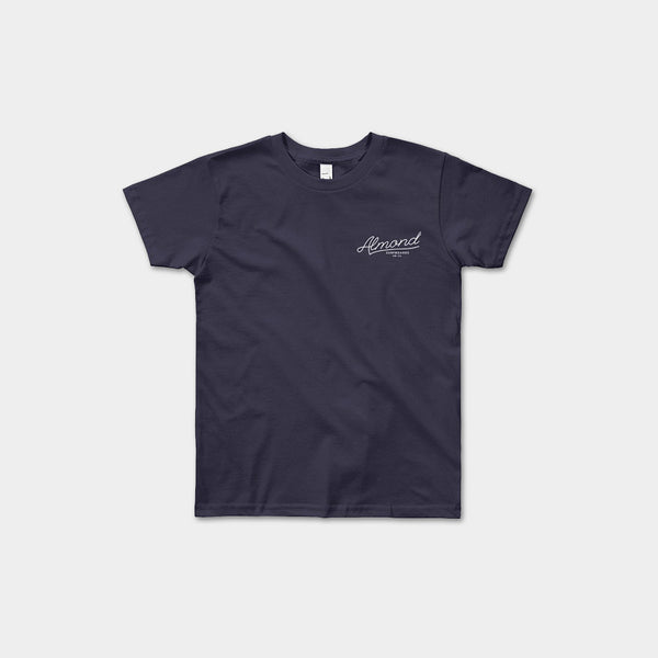 Youth Almond Script T-Shirt