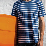 Westport Stripe T-shirt | Navy