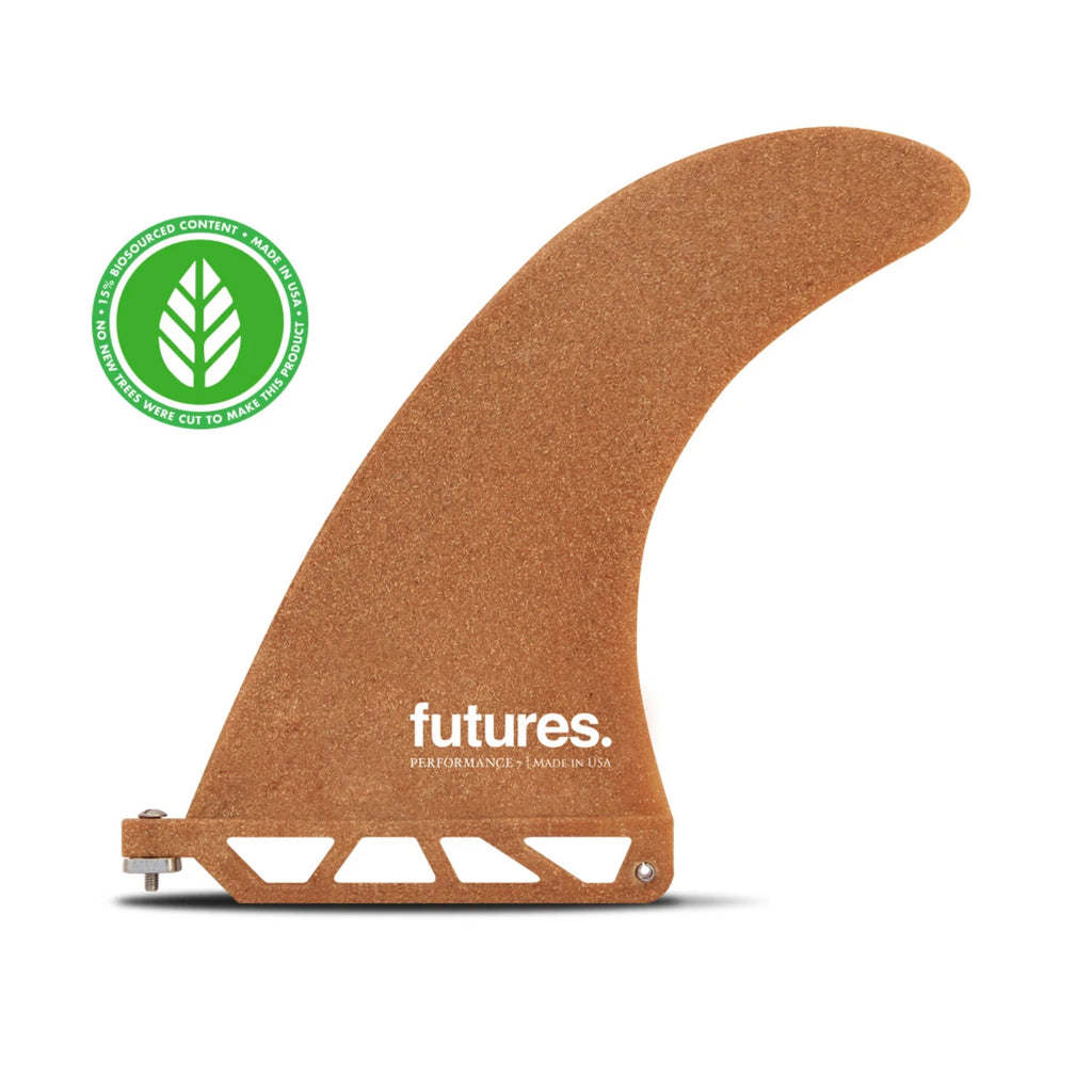 "Recycled Wood 7"" Single Fin"