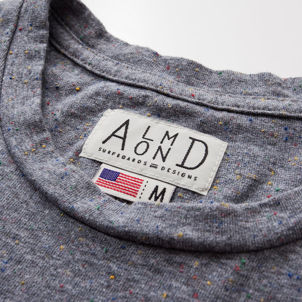 Stanson Pocket Tee | Grey Speckle
