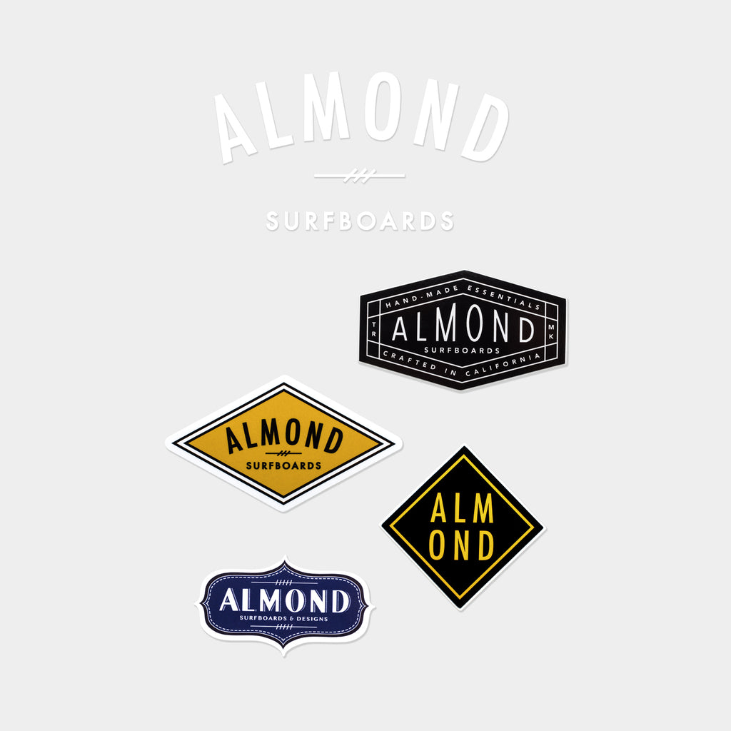 ALMOND STICKER PACK | #001
