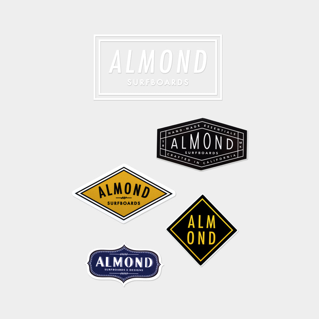 ALMOND STICKER PACK | #002