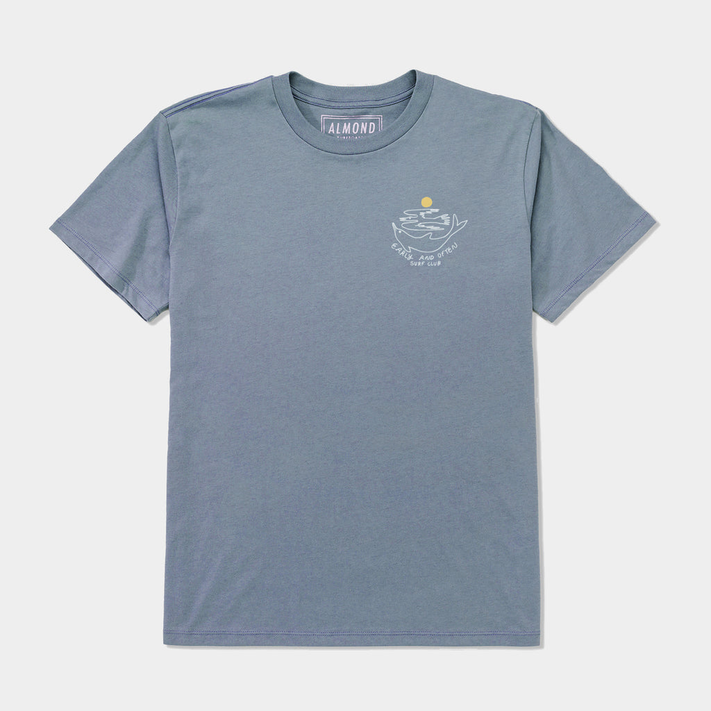 Surf Club Tee | Blue