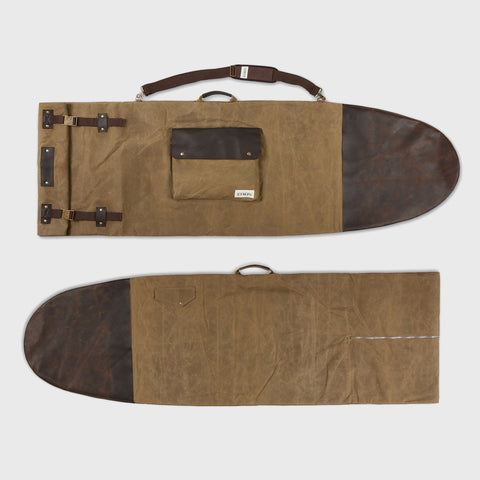 Waxed Canvas Surfboard Bag