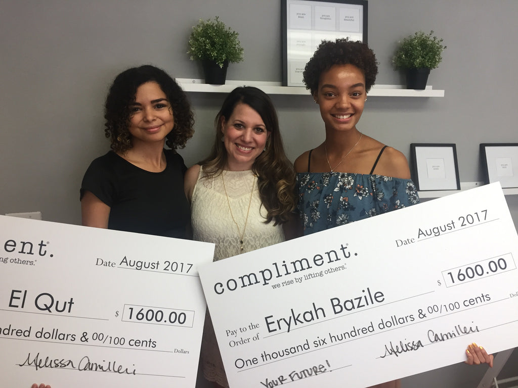 Meet our 2017 Compliment Scholarship Winners