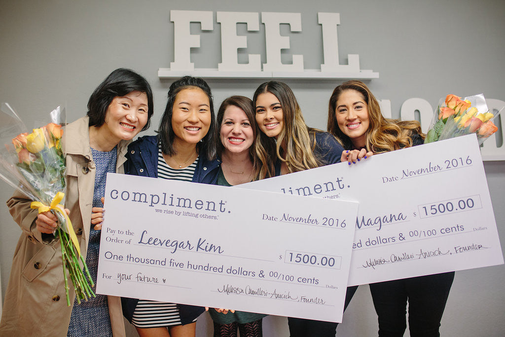 Meet our 2016 Compliment Scholarship Winners