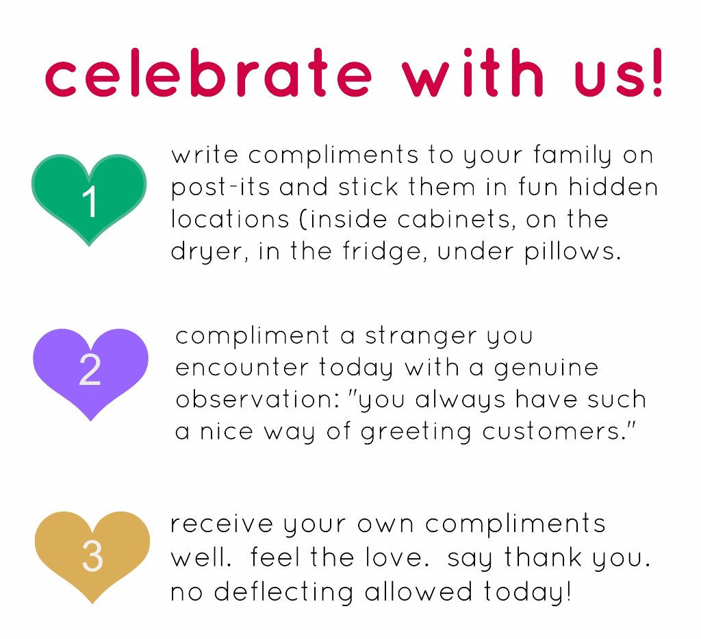 National Compliment Day!  Celebrate With Us!