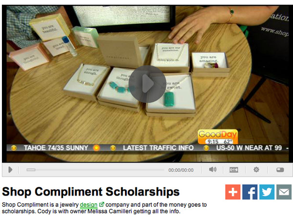Good Day Sacramento Compliment Scholarship