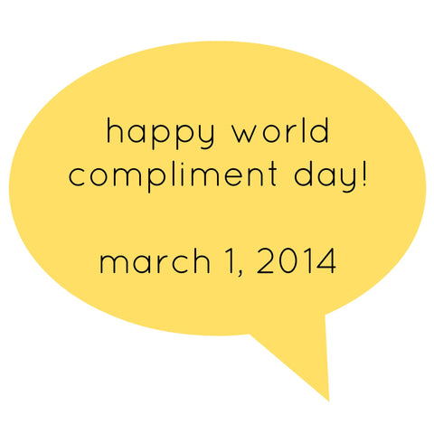 Happy World Compliment Day