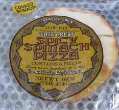 Trader Joes Spicy Spinach Pizza