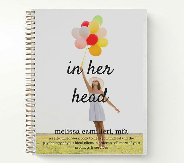 In Her Head Ideal Client Workbook by Melissa Camilleri