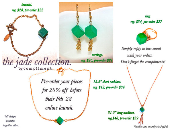 jade collection www.shopcompliment.com