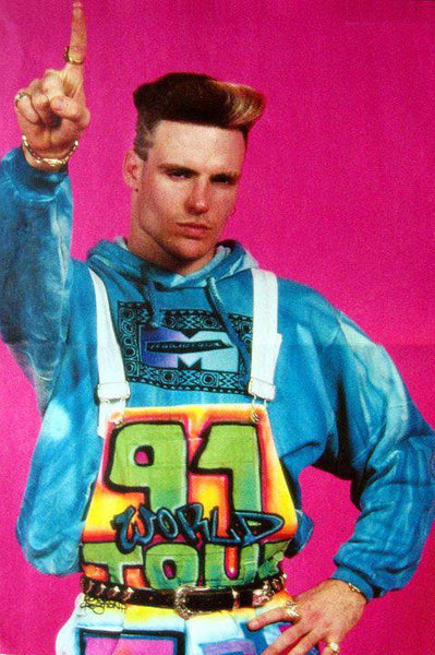 Vanilla Ice Stop, Collaborate, and Listen.