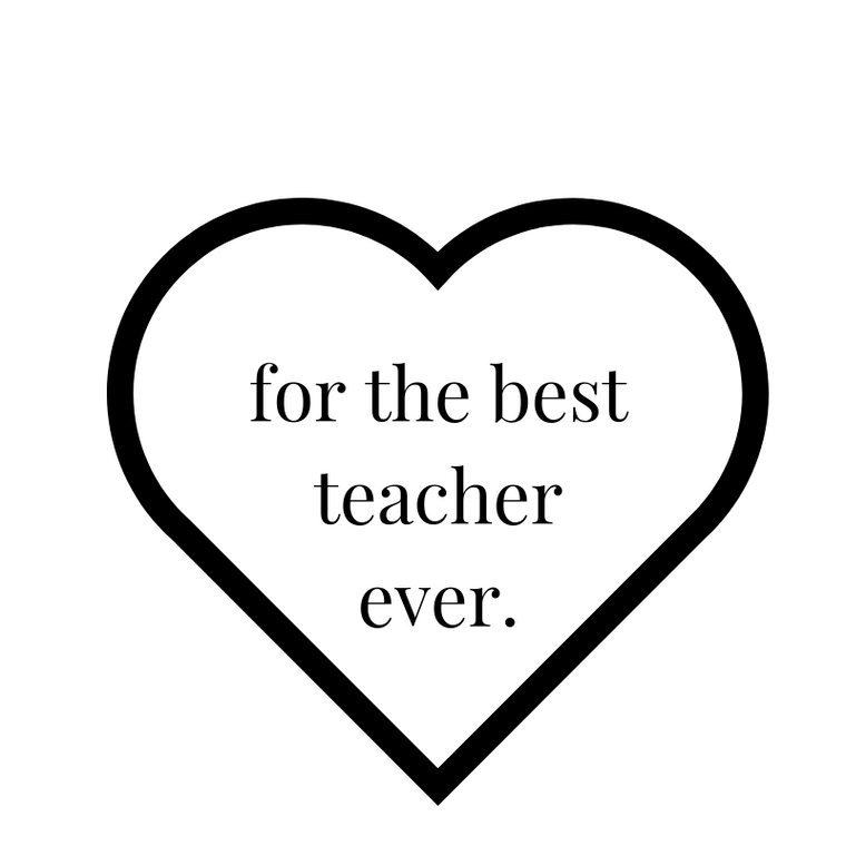 The Best Teacher Ever Bundle