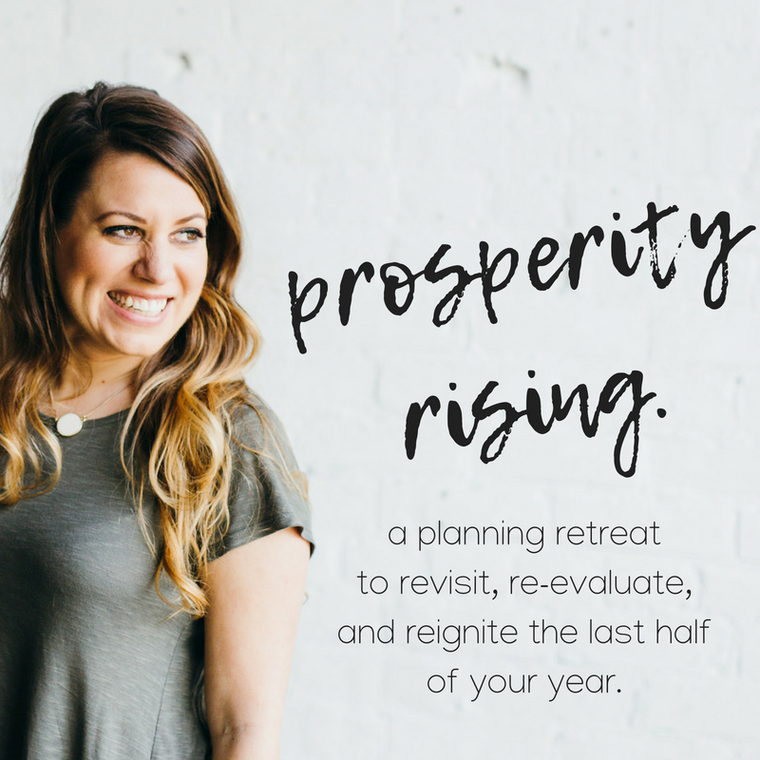 prosperity rising: the 2018 midyear virtual planning retreat