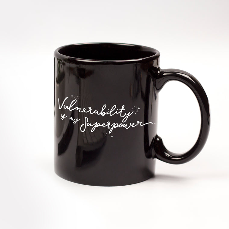 vulnerability is my superpower mug