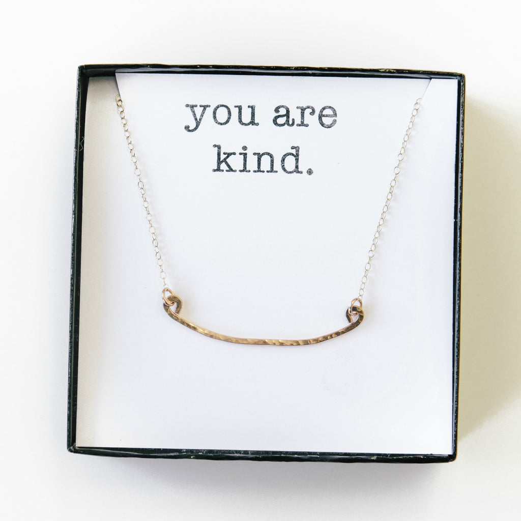 kindness necklace.
